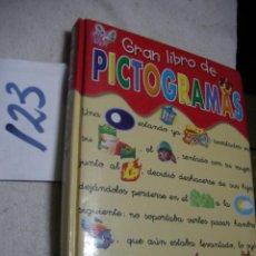 Libros antiguos: GRAN LIBRO DE PICTOGRAMAS . Lote 134048642