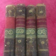 Libros antiguos: MADELEINE GOMEZ, MADRID 1794 JORNADAS DIVERTIDAS POLÍTICAS SENTENCIAS REYES HÉROES ANTIGUEDAD LAMINA. Lote 134065902