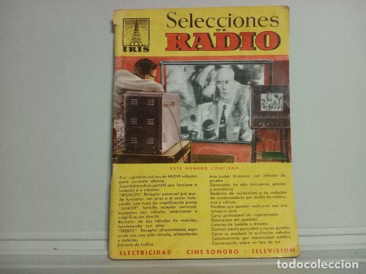 REVISTA SELECCIONES DE RADIO N21 (Libros Antiguos, Raros y Curiosos - Ciencias, Manuales y Oficios - Otros)