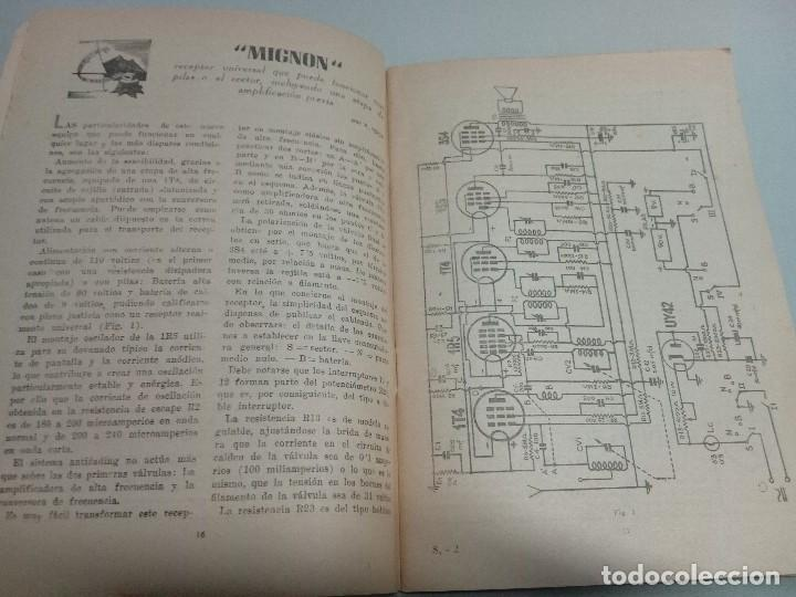 Libros antiguos: Revista Selecciones de radio n21 - Foto 3 - 134076866