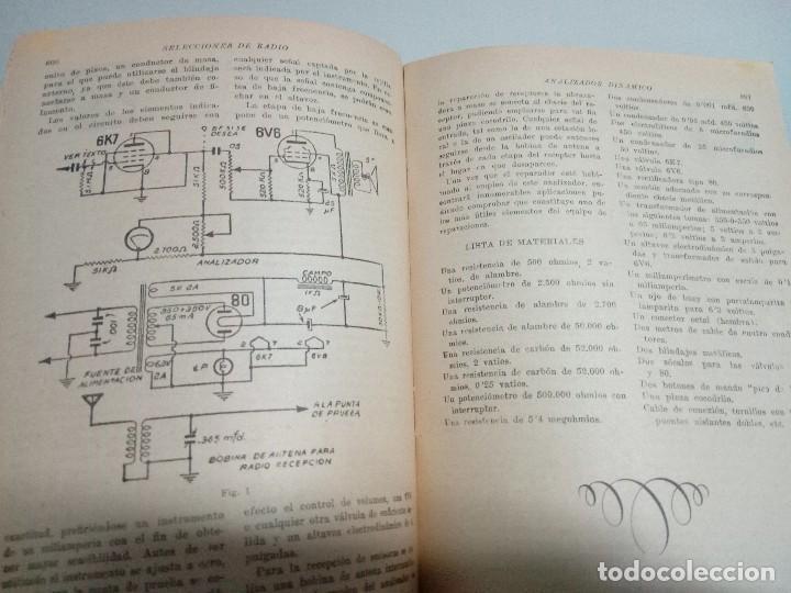 Libros antiguos: Revista Selecciones de radio n21 - Foto 5 - 134076866