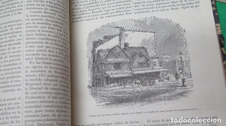 Libros antiguos: 1885.- HISTORIA BIOGRAFICA DE LOS PRESIDENTES DE LOS ESTADOS UNIDOS. LEOPOLDO DE VERNEUILL. MONTANER - Foto 4 - 134181438