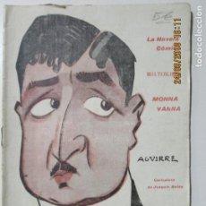Libros antiguos: LA NOVELA CÓMICA. MONNA VANNA. AÑO IV. MADRID 16 DE FEBRERO DE 1919. M. MAETERLINCK. Lote 134193494