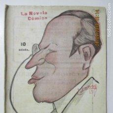 Libros antiguos: LA NOVELA CÓMICA. DE VUELTA AL VIVERO. AÑO IV. MADRID 1919. NÚMERO 179. FIACRO YRAYZOZ. Lote 134193674