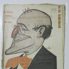 Libros antiguos: LA NOVELA CÓMICA. LAS MUSAS LATINAS. AÑO IV. MADRID 1919. NÚMERO 58. MANUEL MONCAYO. Lote 134194118