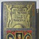 Libros antiguos: HISTORIA DEL MUNDO EN LA EDAD MODERNA. TOMO I. EL RENACIMIENTO. BARCELONA 1935. Lote 134211062