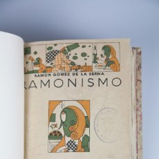 Libros antiguos: RAMONISMO - RAMÓN GÓMEZ DE LA SERNA - MADRID 1923. Lote 134217774