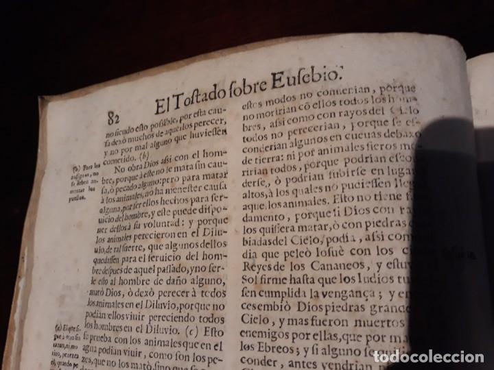Libros antiguos: EL TOSTADO SOBRE EUSEBIO- Segun Comentarios De D.Alonso Tostado.AÑO 1677 EN MADRID MELCHOR SANCHEZ - Foto 4 - 134274918