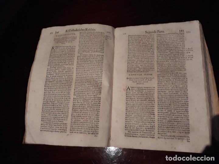 Libros antiguos: EL TOSTADO SOBRE EUSEBIO- Segun Comentarios De D.Alonso Tostado.AÑO 1677 EN MADRID MELCHOR SANCHEZ - Foto 7 - 134274918