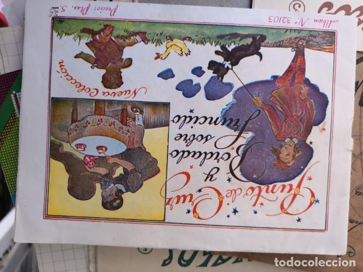 PRECIOSO LIBRETO DE PUNTO DE CRUZ Y BORDADO SOBRE FRUNCIDO COLECCION EL DIBUJANTE CASA CALEF ANCORA (Libros Antiguos, Raros y Curiosos - Ciencias, Manuales y Oficios - Otros)
