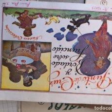 Libros antiguos: PRECIOSO LIBRETO DE PUNTO DE CRUZ Y BORDADO SOBRE FRUNCIDO COLECCION EL DIBUJANTE CASA CALEF ANCORA. Lote 134560846