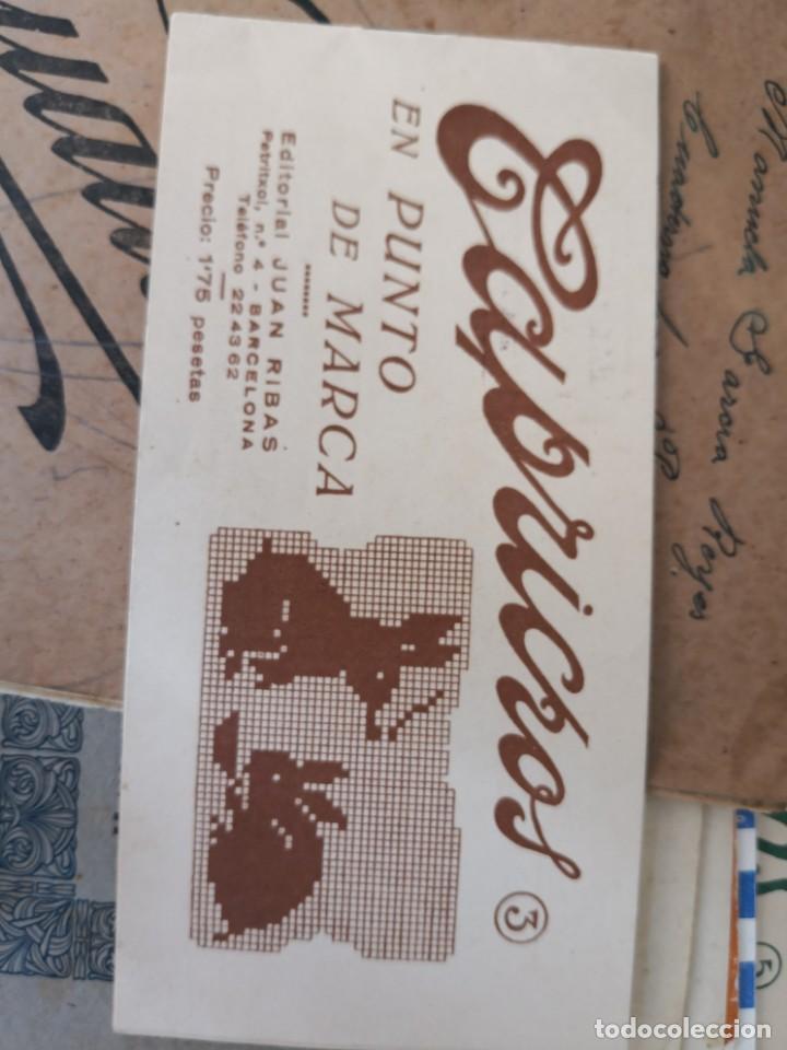 PEQUEÑO ALBUM DE CAPRICHOS EN PUNTO DE MARCA- CRUZ- DE JULIAN RIBAS Nº3 17X8 (Libros Antiguos, Raros y Curiosos - Ciencias, Manuales y Oficios - Otros)