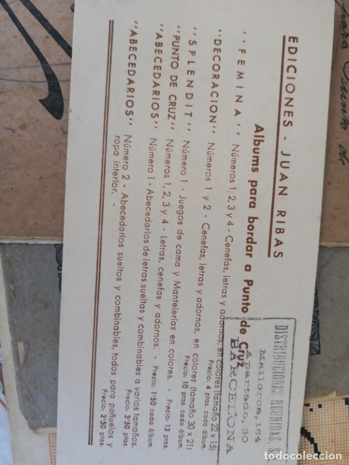Libros antiguos: PEQUEÑO ALBUM DE CAPRICHOS EN PUNTO DE MARCA- CRUZ- DE JULIAN RIBAS Nº3 17X8 - Foto 2 - 134561182