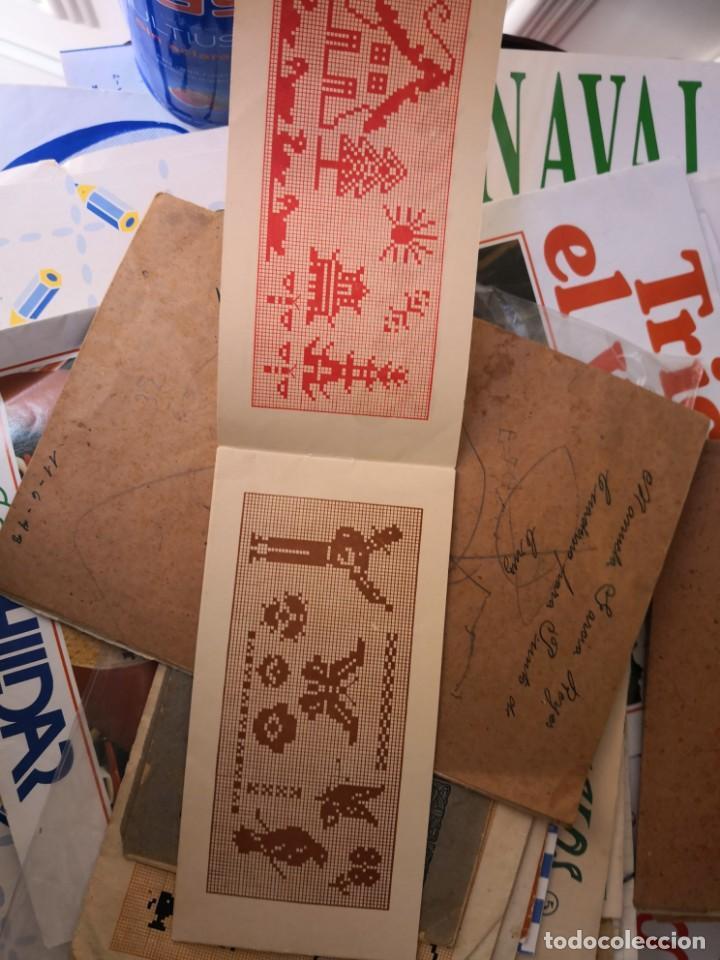 Libros antiguos: PEQUEÑO ALBUM DE CAPRICHOS EN PUNTO DE MARCA- CRUZ- DE JULIAN RIBAS Nº3 17X8 - Foto 3 - 134561182