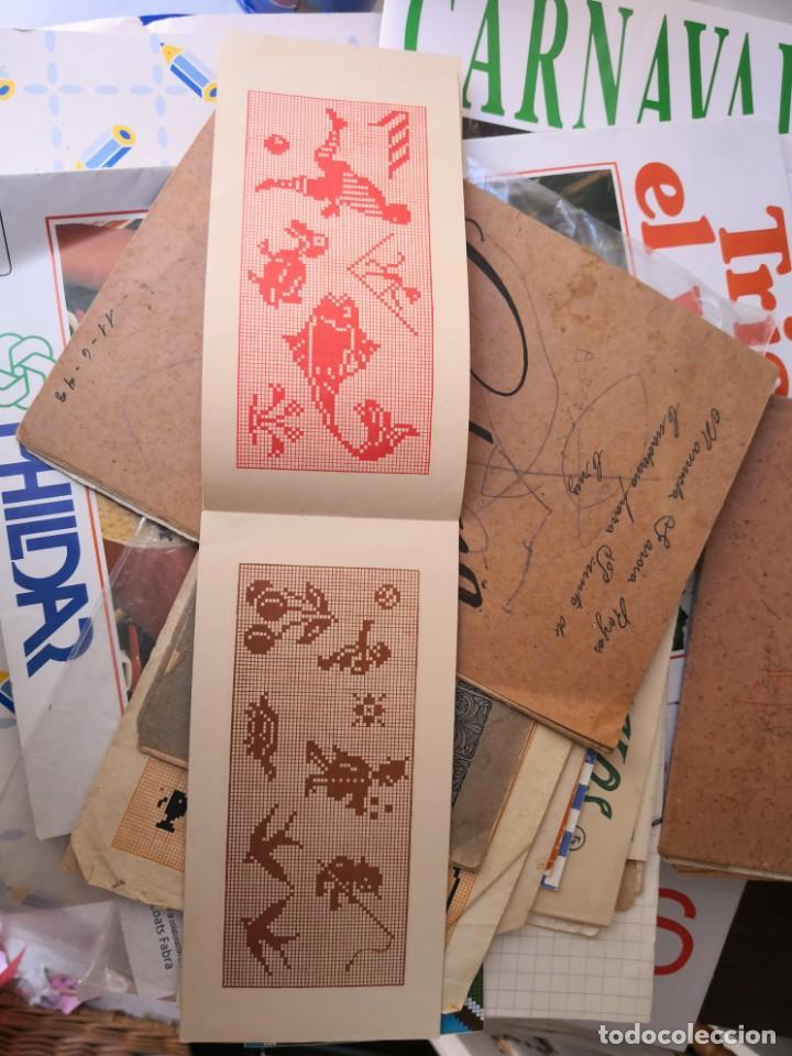 Libros antiguos: PEQUEÑO ALBUM DE CAPRICHOS EN PUNTO DE MARCA- CRUZ- DE JULIAN RIBAS Nº3 17X8 - Foto 4 - 134561182