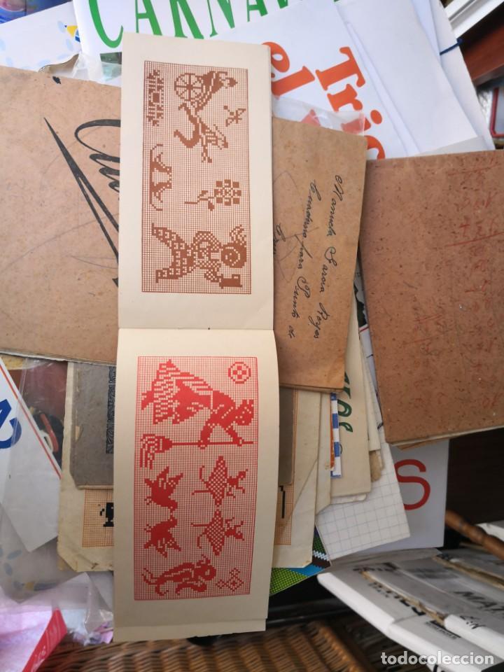 Libros antiguos: PEQUEÑO ALBUM DE CAPRICHOS EN PUNTO DE MARCA- CRUZ- DE JULIAN RIBAS Nº3 17X8 - Foto 6 - 134561182