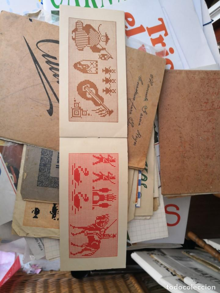 Libros antiguos: PEQUEÑO ALBUM DE CAPRICHOS EN PUNTO DE MARCA- CRUZ- DE JULIAN RIBAS Nº3 17X8 - Foto 7 - 134561182