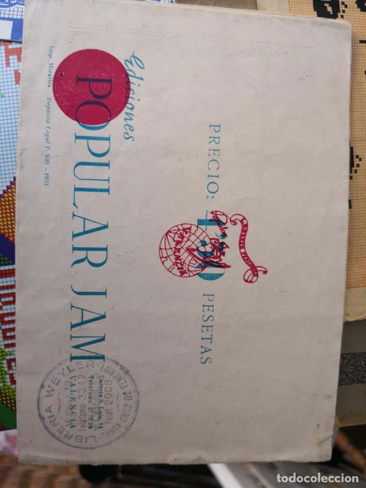 Libros antiguos: revista punto de cruz de popular Jam año 1958 - Foto 2 - 134562330