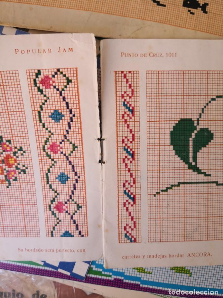 Libros antiguos: revista punto de cruz de popular Jam año 1958 - Foto 4 - 134562330
