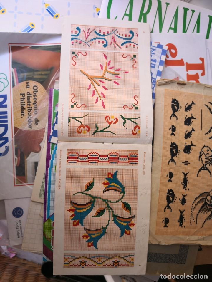 Libros antiguos: revista punto de cruz de popular Jam año 1958 - Foto 5 - 134562330