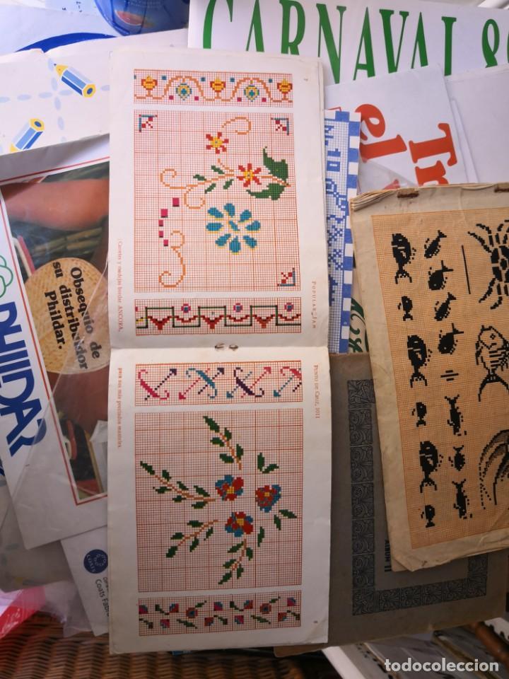 Libros antiguos: revista punto de cruz de popular Jam año 1958 - Foto 7 - 134562330