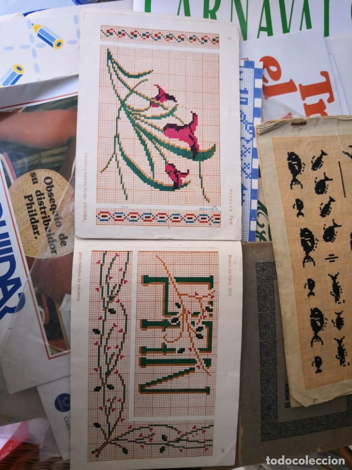 Libros antiguos: revista punto de cruz de popular Jam año 1958 - Foto 8 - 134562330