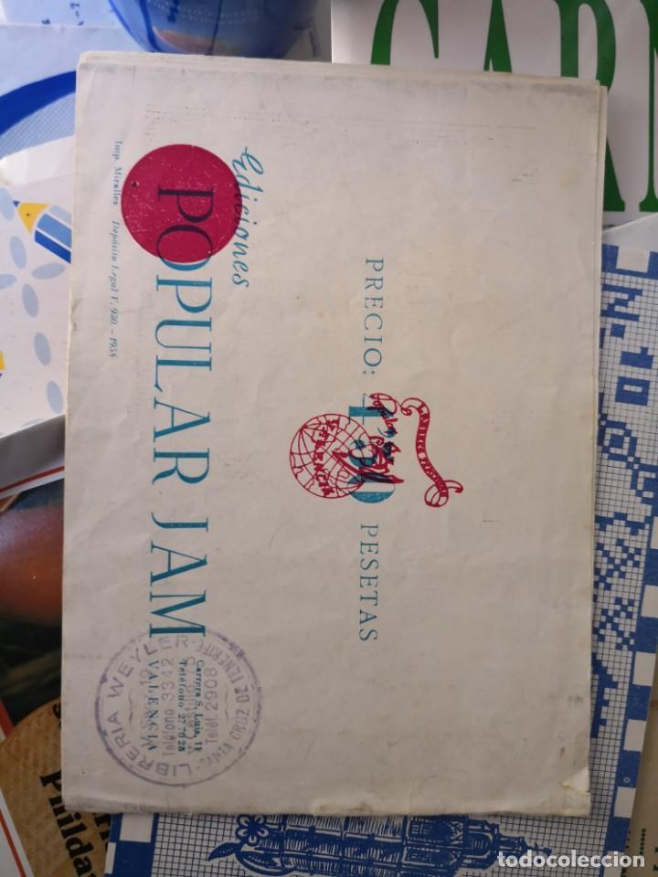 Libros antiguos: revista punto de cruz de popular Jam año 1958 - Foto 11 - 134562330