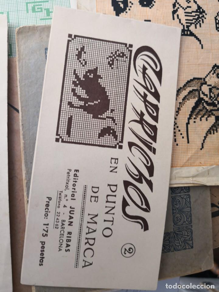 PEQUEÑO ALBUM DE CAPRICHOS EN PUNTO DE MARCA- CRUZ- DE JULIAN RIBAS Nº2 17X8 (Libros Antiguos, Raros y Curiosos - Ciencias, Manuales y Oficios - Otros)