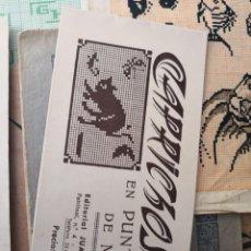 Libros antiguos: PEQUEÑO ALBUM DE CAPRICHOS EN PUNTO DE MARCA- CRUZ- DE JULIAN RIBAS Nº2 17X8. Lote 134563182