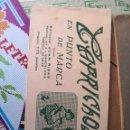 Libros antiguos: PEQUEÑO ALBUM DE CAPRICHOS EN PUNTO DE MARCA- CRUZ- DE JULIAN RIBAS Nº 17X8. Lote 134563674