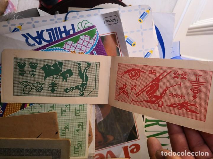 Libros antiguos: PEQUEÑO ALBUM DE CAPRICHOS EN PUNTO DE MARCA- CRUZ- DE JULIAN RIBAS Nº 17X8 - Foto 3 - 134563674