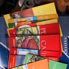 Libros antiguos: LOTE 13 PROGRAMAS DE EDUCACION EN ALIMENTACION Y NUTRICION -GOBIERNO ESPAÑOL-UNICEF-FAO- AÑOS 60/70. Lote 134613438
