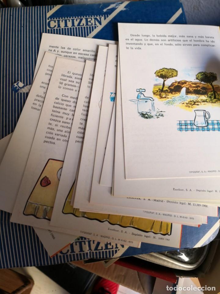 Libros antiguos: LOTE 13 PROGRAMAS DE EDUCACION EN ALIMENTACION Y NUTRICION -GOBIERNO ESPAÑOL-UNICEF-FAO- AÑOS 60/70 - Foto 2 - 134613438
