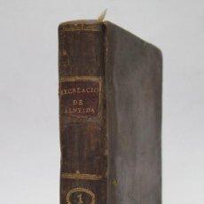 Libros antiguos: 1792.- RECREACION FILOSOFICA. P. D. TEODORO ALMEIDA. TOMO I. MADRID. IMPRENTA REAL. TOMO I. 5 GRABAD. Lote 134730586