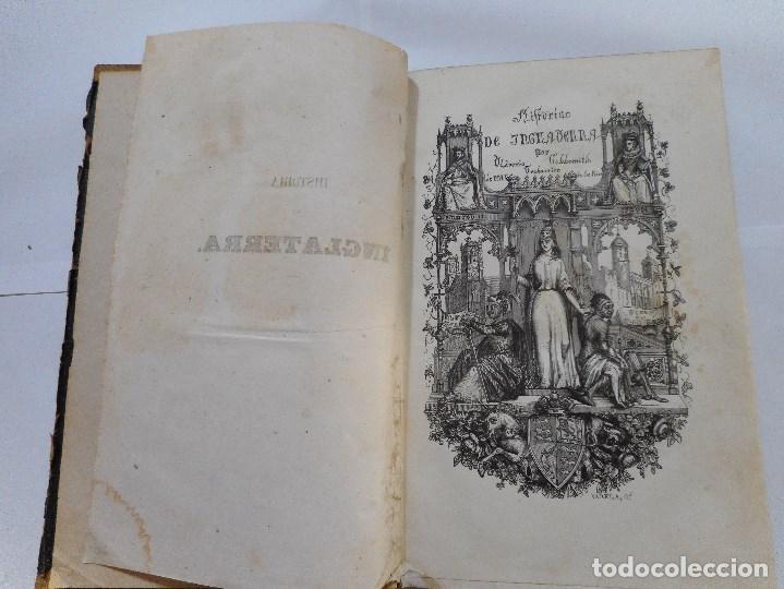 Libros antiguos: OLIVERIO GOLDSMITH Historia de Inglaterra (2 tomos) Y90329 - Foto 3 - 134757190