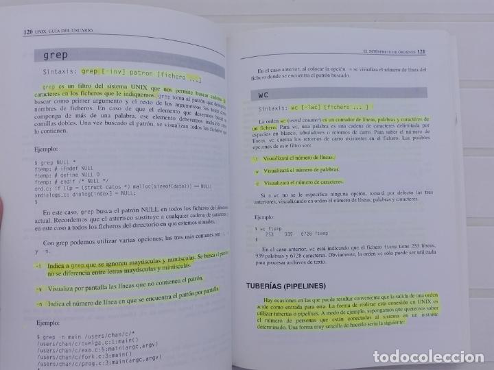 Libros antiguos: UNIX - Foto 2 - 134791030