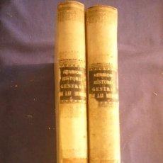 Libros antiguos: BARON DE HENRION: - HISTORIA GENERAL DE LAS MISIONES...- (TOMO 2. VOL. 1 Y 2) (BARCELONA, 1863). Lote 134809014