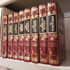 Libros antiguos: LOTE JULIO VERNE - 8 TOMOS . Lote 134869602