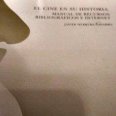 Libros antiguos: EL CINE EN SU HISTORIA . Lote 134871634