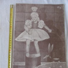 Libros antiguos: LIBRO DE BORDADO CORDADOS Nº17 COMPLETO . Lote 134912118