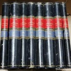 Libros antiguos: COLECCION DE VIII VOLUMENES DE LA PRESTIDIGITATION SANS BAGAGES OU MILLE TOURS DANS UNE VALISE, POR. Lote 134977610