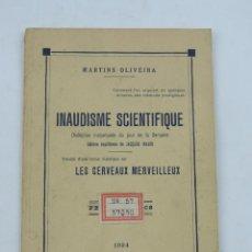 Libri antichi: INAUDISME SCIENTIFIQUE: DIVINATION INSTANTANÉE DU JOUR DE LA SEMAINE. AUTOR: MARTINS OLIVEIRA, ILUSI. Lote 134979006