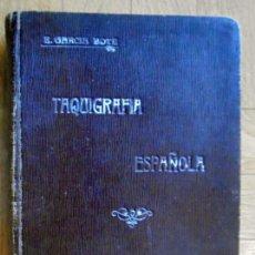 Libros antiguos: CURSO COMPLETO DE ESTENOGRAFÍA ESTATIGRÁFICA. ARTE DE ESCRIBIR CON LA RAPIDEZ DE LA PALABRA HABLADA.. Lote 135007442