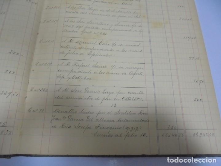Libros antiguos: CADIZ. ASOCIACION GADITANA DE LA CARIDAD. LOTE DE 5 LIBROS DE CUENTAS. LEER DESCRIPCION. VER - Foto 9 - 135091078