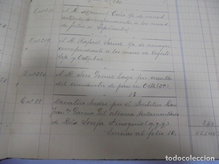 Libros antiguos: CADIZ. ASOCIACION GADITANA DE LA CARIDAD. LOTE DE 5 LIBROS DE CUENTAS. LEER DESCRIPCION. VER - Foto 10 - 135091078
