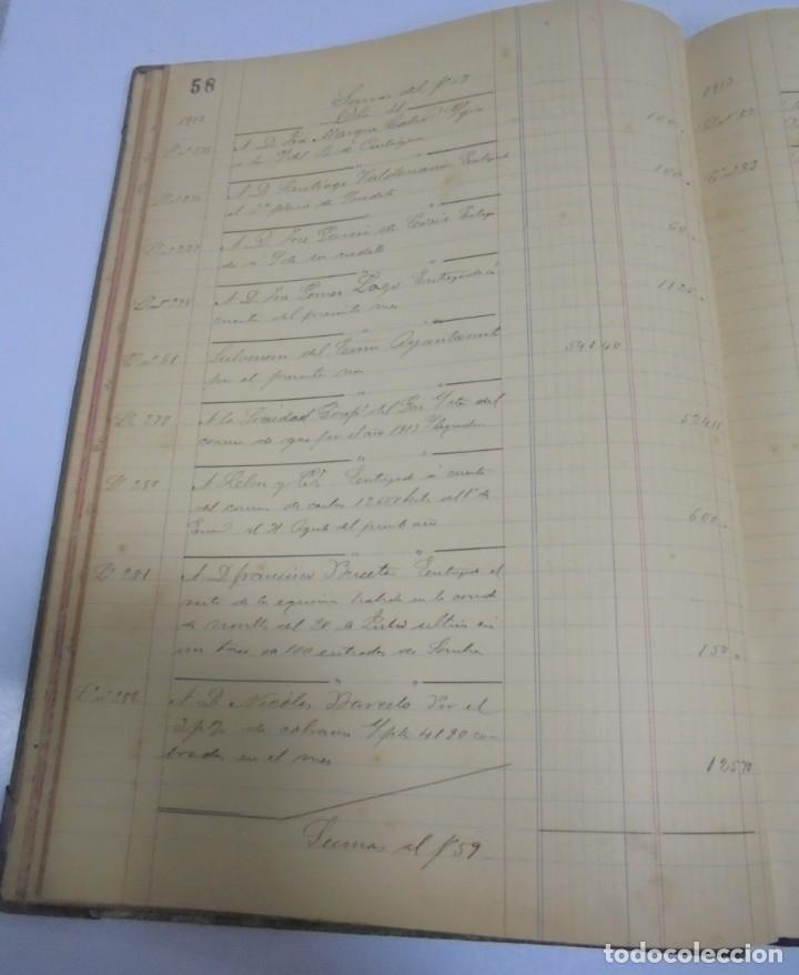 Libros antiguos: CADIZ. ASOCIACION GADITANA DE LA CARIDAD. LOTE DE 5 LIBROS DE CUENTAS. LEER DESCRIPCION. VER - Foto 14 - 135091078