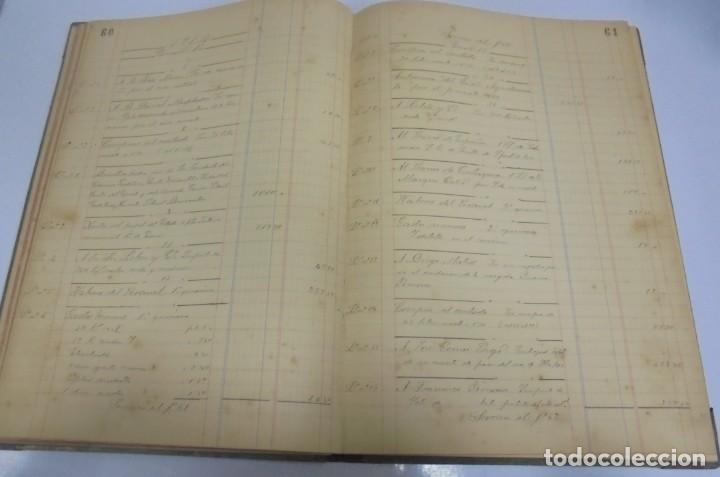 Libros antiguos: CADIZ. ASOCIACION GADITANA DE LA CARIDAD. LOTE DE 5 LIBROS DE CUENTAS. LEER DESCRIPCION. VER - Foto 15 - 135091078