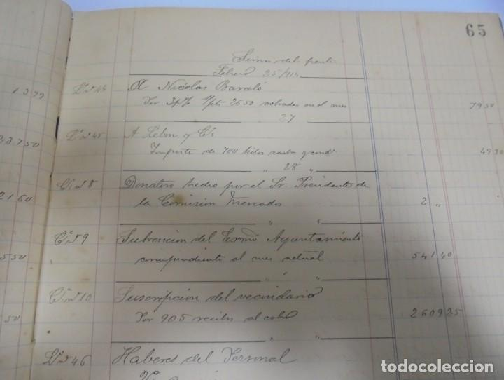 Libros antiguos: CADIZ. ASOCIACION GADITANA DE LA CARIDAD. LOTE DE 5 LIBROS DE CUENTAS. LEER DESCRIPCION. VER - Foto 17 - 135091078
