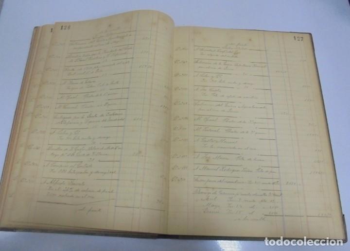 Libros antiguos: CADIZ. ASOCIACION GADITANA DE LA CARIDAD. LOTE DE 5 LIBROS DE CUENTAS. LEER DESCRIPCION. VER - Foto 20 - 135091078