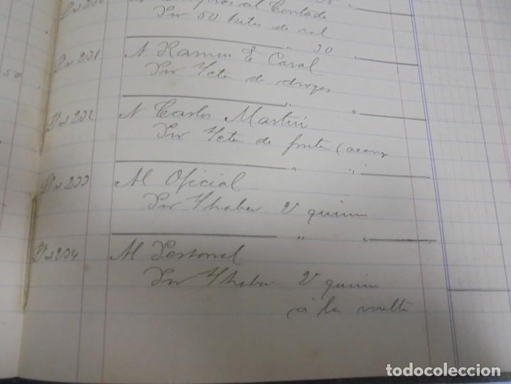 Libros antiguos: CADIZ. ASOCIACION GADITANA DE LA CARIDAD. LOTE DE 5 LIBROS DE CUENTAS. LEER DESCRIPCION. VER - Foto 21 - 135091078